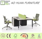HOT design office 2personfabric partition good quality made by ao huan