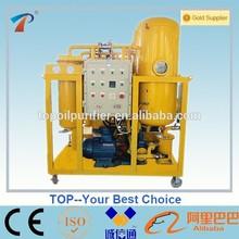 Mineral turbine oil filtration machine decrease power consumption,portable,energy saving