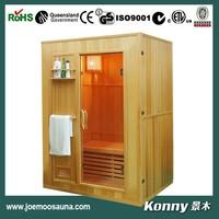 2014 KL-EN3 new luxury good wood steam sauna room