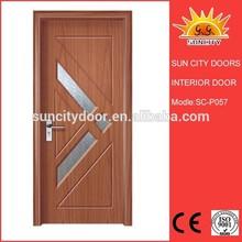 2014 new promotion exterior hdf+solid wood door SC-P057.