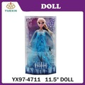 Venta caliente 11.5 pulgadas Frozen Doll venta al por mayor frozen, fábrica Driect venta