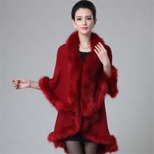 Hot sale Faux fur cappa,2015 turkish coat wholesale china
