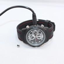 hot selling!!! 720*480 8Gb watch live hidden cameras hand watch camera