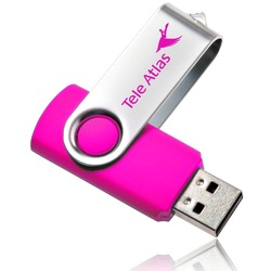 Business Gift Use swivel 2gb usb flash drive
