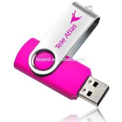 Business Gift Use swivel 2gb usb flash drive