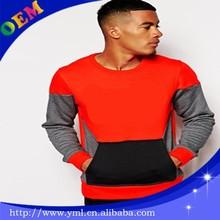 men fleece sweatshirt fabric printed wholesale
