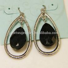 2015 hot wholesale elegant fashion zinc alloy women earrings resin tear earrings