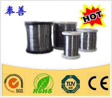 Fio de resistência calor fio elétrico cr27al7mo2 fio de alta temperatura