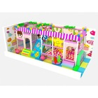 fitness equipment indoor playsets, funny colorful indoor park