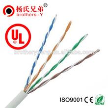 Bare Copper UTP cat 5e cable roll 305 m