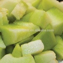 Fresh frozen green honeydew