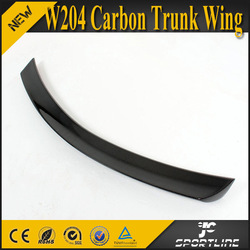 V Design C-class W204 Carbon Trunk Wing for Mercedes Benz Coupe 2D