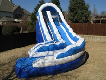 mini inflatable dry slides for amusement park/buy inflatable dry slide