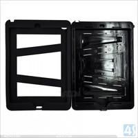 2014 Hot selling TPU+PC heavy duty hybrid kickstand case for ipad air 2