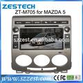 zestech venta al por mayor de china oem 2 din coche reproductor de dvd para mazda 5 de estéreo proveedor de china con gps bluetooth sintonizador de tv