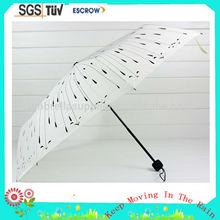 Low price hot selling nice colorful 3 folding mini umbrella