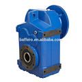 F de la serie estándar de coser caja de engranajes helicoidal/caja de cambios/motorreductor