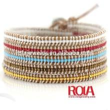 Alibaba wholesale handmade braid african friendship bracelet