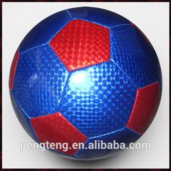 Laser PVC material promotion mini football size 2