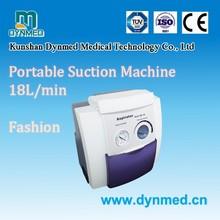 Suction unit low vacuum high flow suction