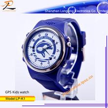 2014 Hot selling outdoor kids wear GPS/SOS watch