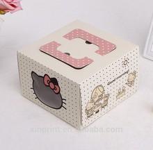 Cute paper cupcake box,boxes for cake,custom cake boxes