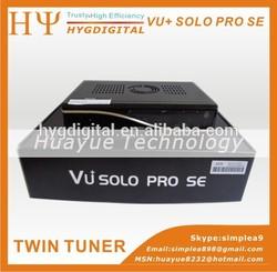 stocks Enigma2 Linux OS Smart TV Player Multiple LNB control VU+SOLO PRO SE