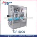 líquido de lavado detergente de llenado de la máquina