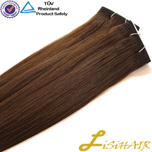 2014 best selling wholesale remy wet and wavy virgin indian remy hair extension