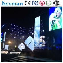 Leeman lightweight led screen 6 mm led street light p7.62 display
