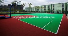Portable indoor PVC sports flooring/vinyl basketball flooring