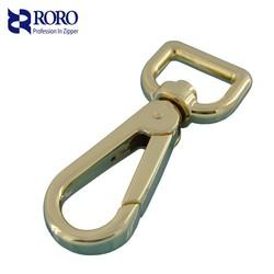 RORO14111502 shiny gold Hook for handbag