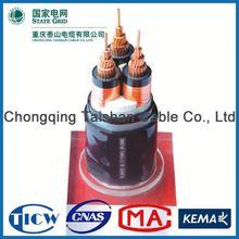 Factory Wholesale 15kv 3x240mm hv/mv/lv pvc/ xlpe/ copper/aluminum electric power cable