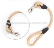 Wholesale rope dog leash,fashion dog harness,nylon pet leash with Factory Price
