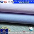 Hombres camisa de tela de hilo algodón 100% dobby teñido de camisas de tela 8676,8677