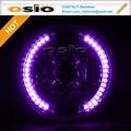 Bmc de haz sellado semi led de color púrpura anillo halo instalar halógenos h4/bombilla de xenón hid