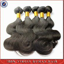Cheap And Good Quality 100% Virgin Human Hair length 14 inch Natural Color 1B 3 pcs/set Brazilian Body Wave Hair Extensions