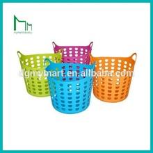plastic storage baskets for bathroom