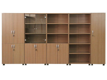 Licheng office furniture/file cabinet for sale/glass door bookcase