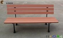 New tec material wpc garden bench