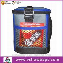 Guangdong factory insulated lunch cooler bag, aluminium foil cooler bag
