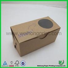 china hot sale kraft cupcake packaging wholesale