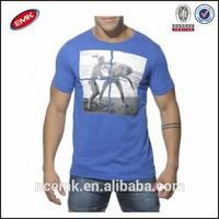 boys beach round t shirt wholesale 100% cotton soft and thin t shirts