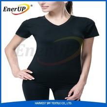 Copper compression women underwear t-shirt