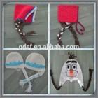 New arrival kids winter hat Frozen Olaf cartoon cap cute baby hats