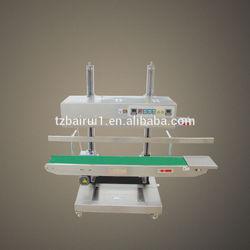 Continuous PP bag sealing machine XK-1100V PE bag sealer