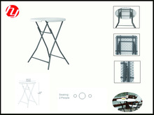 bar table 110cm height for 2 people use