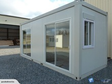 Cheap flat packed container house / container unit / office container for sale!