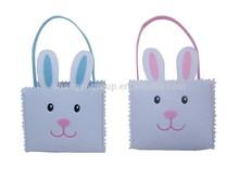 (19-14CD)2015 Felt Easter Bag/Bunny felt bag/Easter gift bag
