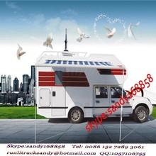 China 4x2 Foton motor home and caravan